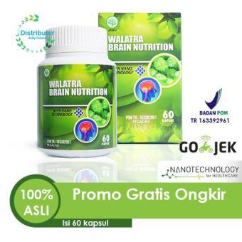 Daftar Harga Walatra Brain Nutrition Kapsul, Obat Penambah Daya Ingat, Obat Pelupa terbaik murah - Hanya Rp136.150