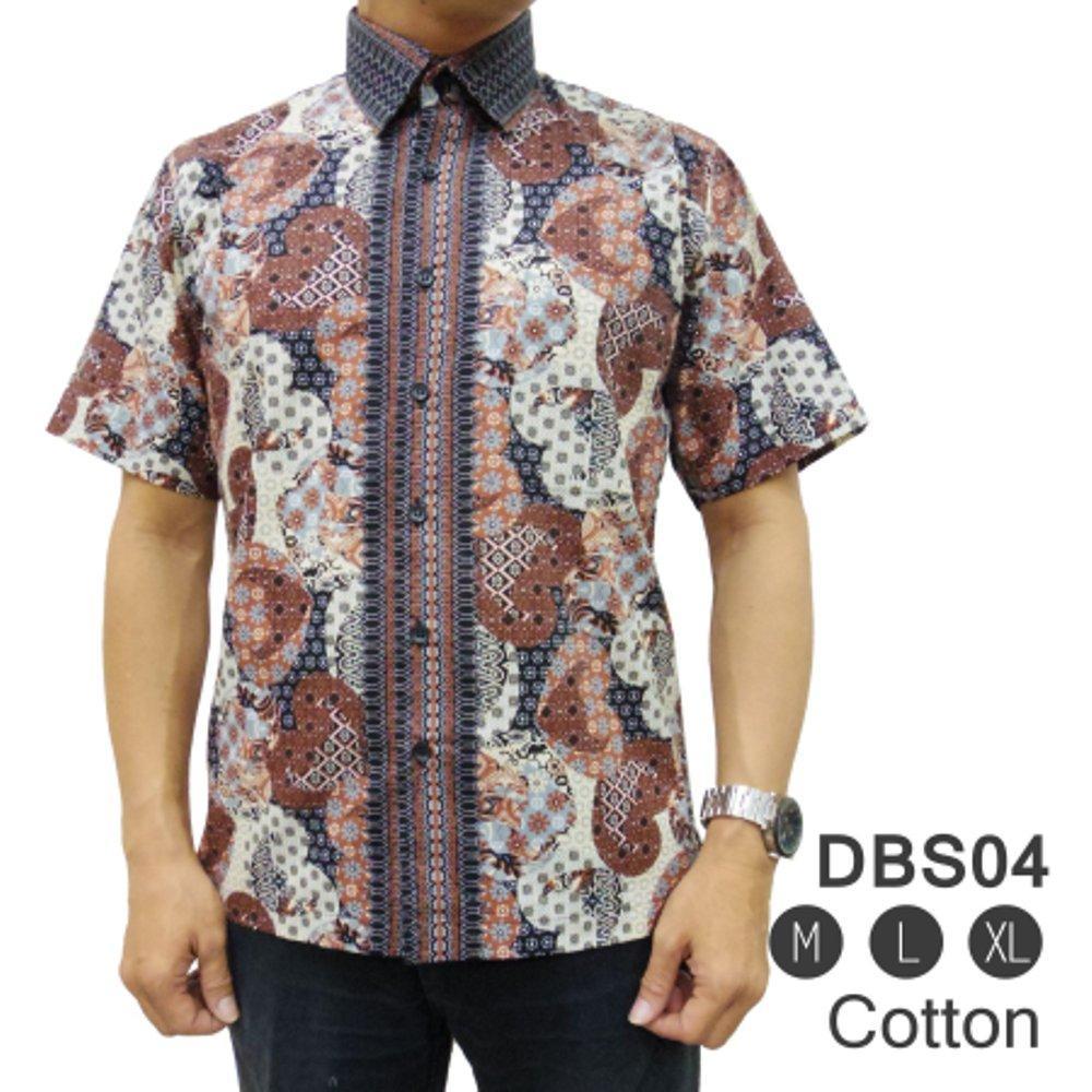Kemeja Batik Reguler DBS04 - ( fashion pria batik slimfit reguler jas dasi hem blazer jaket sweater kaos oblong tshirt polo celana jeans couple pakaian muslim gamis dress blouse baju koko) di lapak New Trendy newtrendy