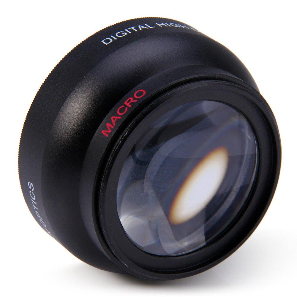 52mm 0.45X Fisheye Wide Angle Macro Lens for Nikon D3200 D3100