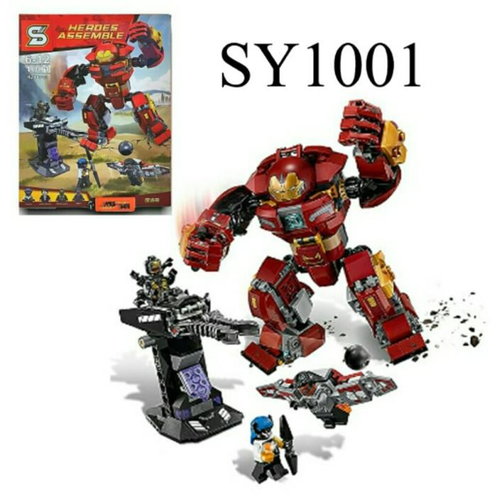 SY 1001 Super heroes - The Hulkbuster Infinity war ironman