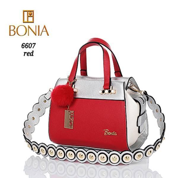 TAS WANITA BRANDED IMPORT BONIA NADYA 6607 MURAH
