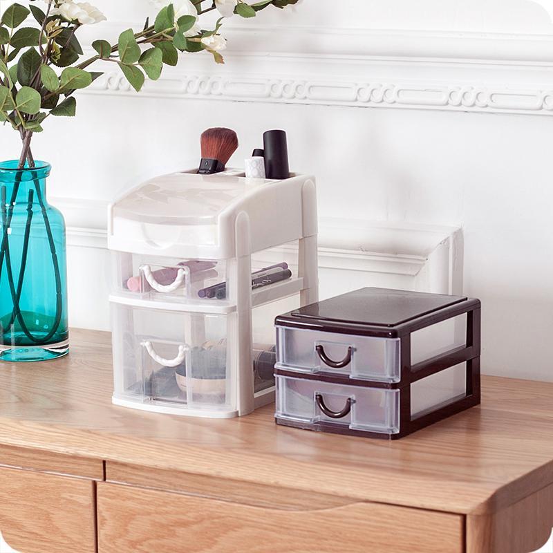... Plastik Transparan Tipe Laci Meja Kotak Kosmetik-Internasional - 4 ...