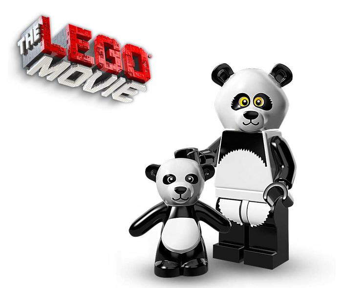 BEST SELLER!!! LEGO MINIFIGURE LEGO MOVIE SERIES 71004-15	PANDA GUY - Tkz7Pc