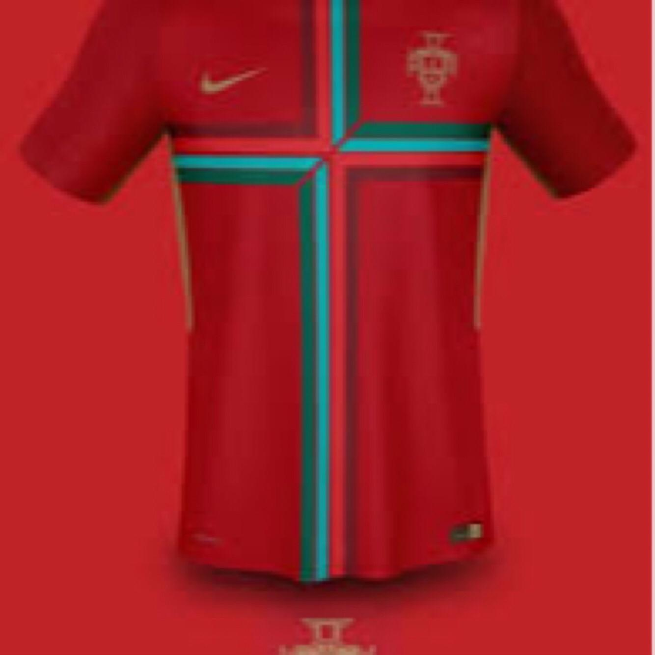 JERSEY PORTUGAL 3rd WORLD CUP 2018 - JERSEY BOLA TIMNAS PORTUGAL PIALA DUNIA 2018