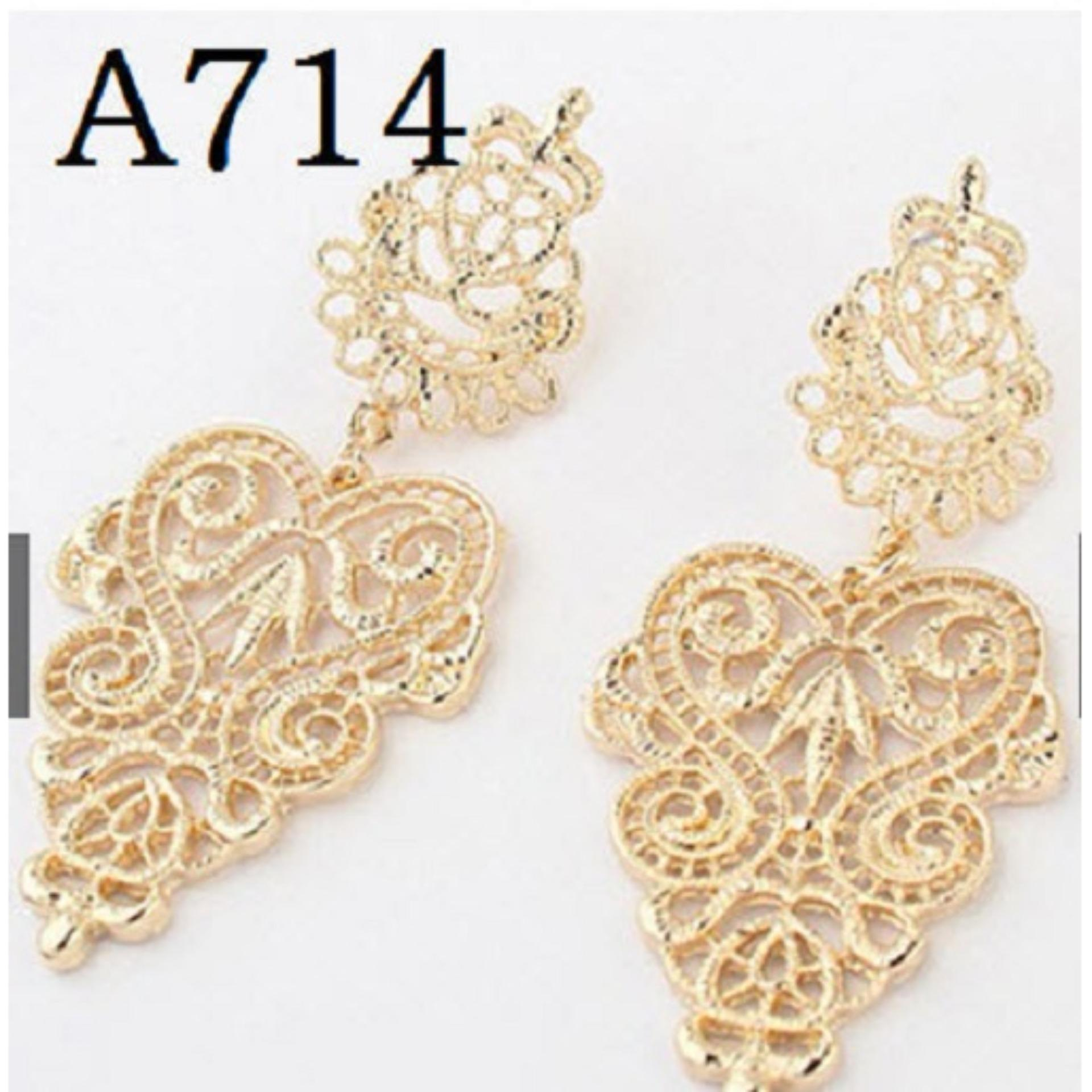 Anting Korea (Jual Perhiasan Set Cincin Gelang Kalung Xuping)