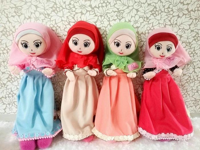 Mini Miuchan-Meymey Chic Polka, Boneka Muslimah Miulan, Boneka Jilbab - G7dSws