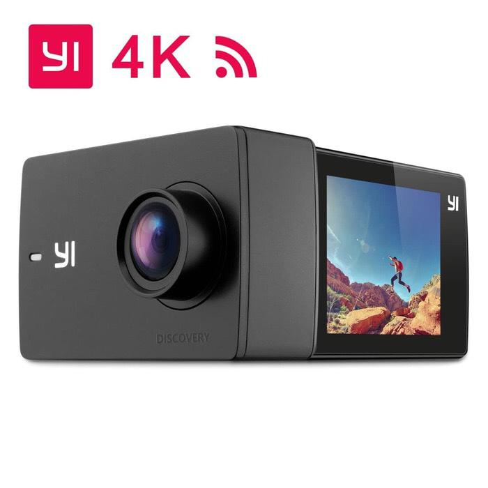 Xiaomi Yi Discovery Action Camera 4K 16Mp Original Touch Screen Garansi resmi
