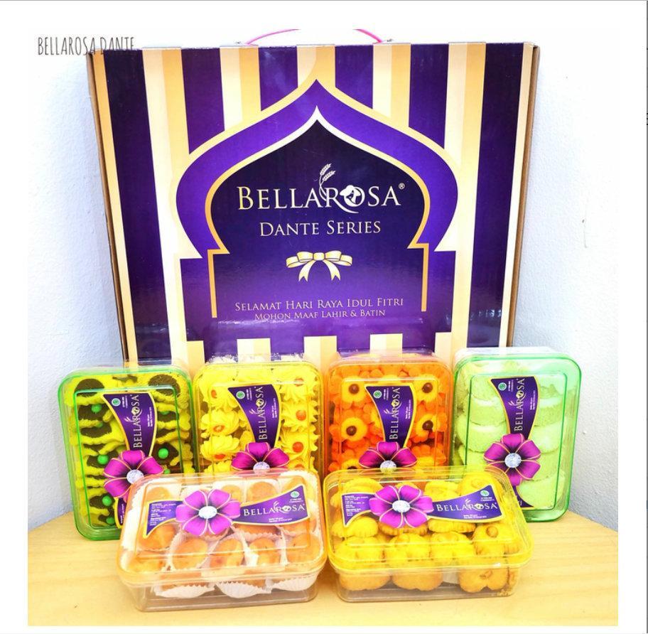 Paket Kue Lebaran BELLAROSA DANTE / Kue Lebaran/Paket Lebaran ...
