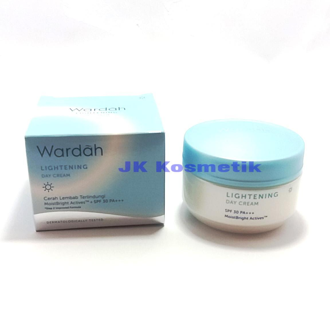 Fitur Wardah Lightening Daynight Cream Step 2 30 Gr Dan Harga Night 30gr Day