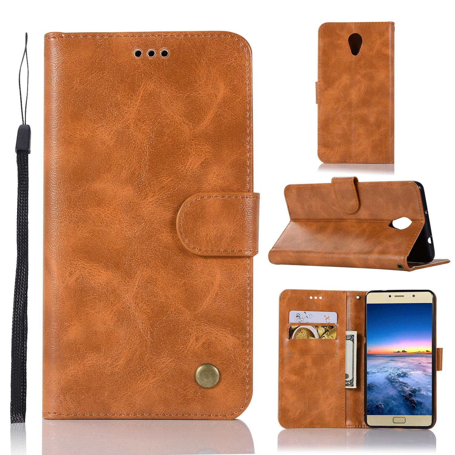 For Lenovo Vibe P2 Case , Premium Retro Slim Wallet Case, Vintage Leather Classical Folio
