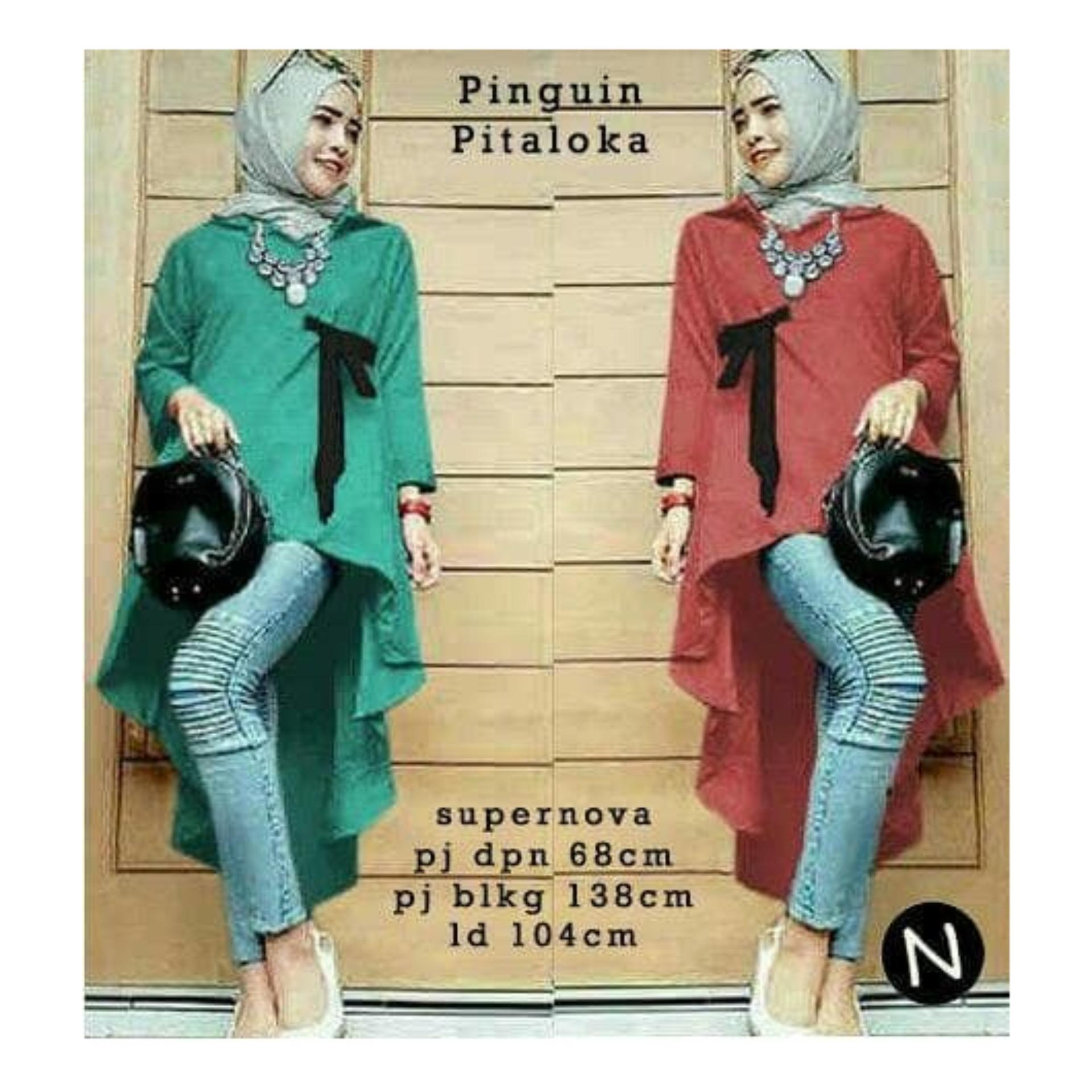 55409/baju tunik wanita/atasan muslim wanita/baju jumbo/atasan bigsize