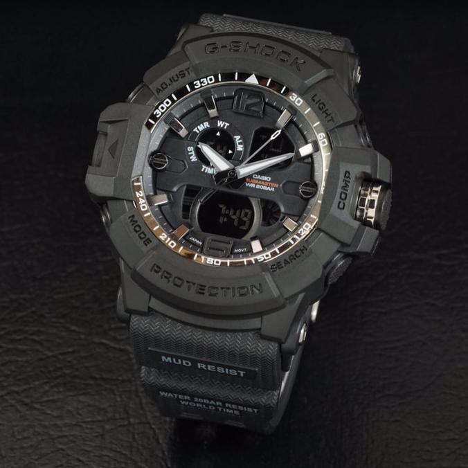 G Shock Gwa 1045 Full Black Hitam Gshock Gwa1045 Jam Tangan Pria - Timewatch