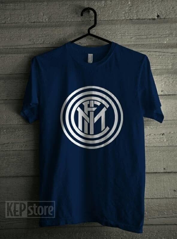 PALING DICARI Kaos Logo Inter Milan bahan Combed 30'S PROMO