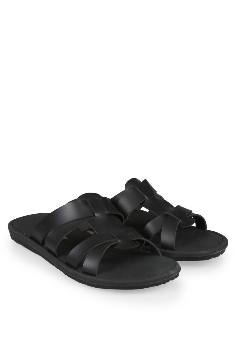 Yongki Komaladi Flip Flop & Sandal Fashion Pria Arief Black