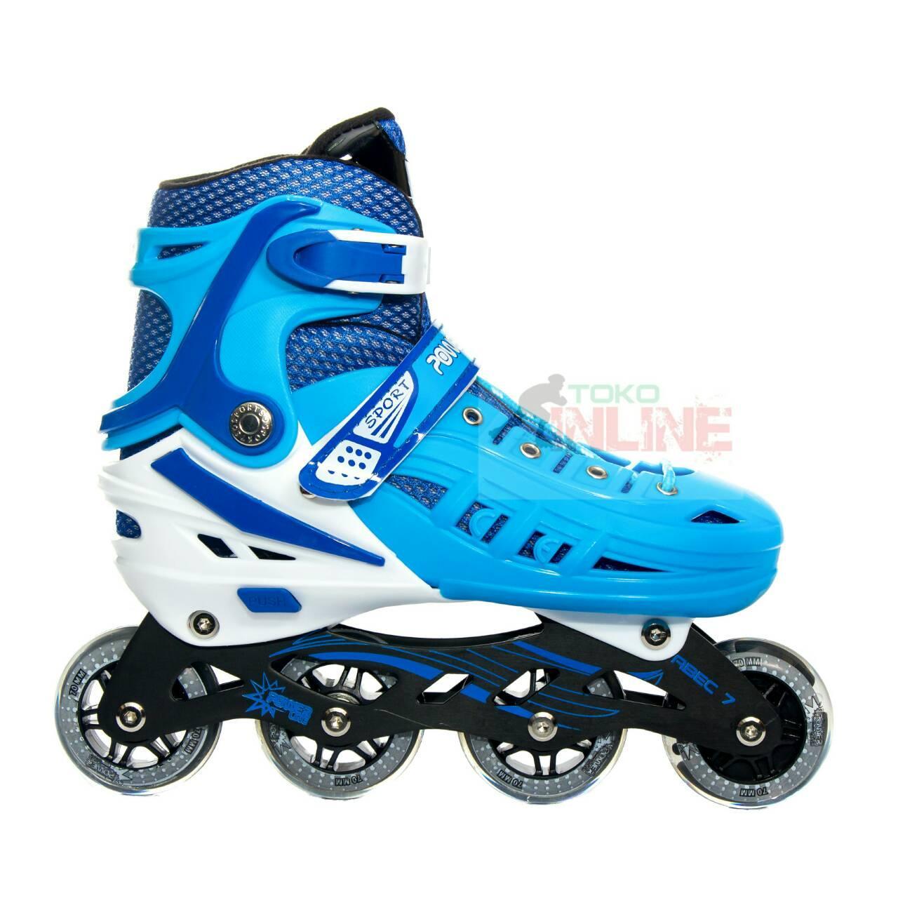 Sepatu Roda Power Line HB22 Recreational Inline Skate  Blue