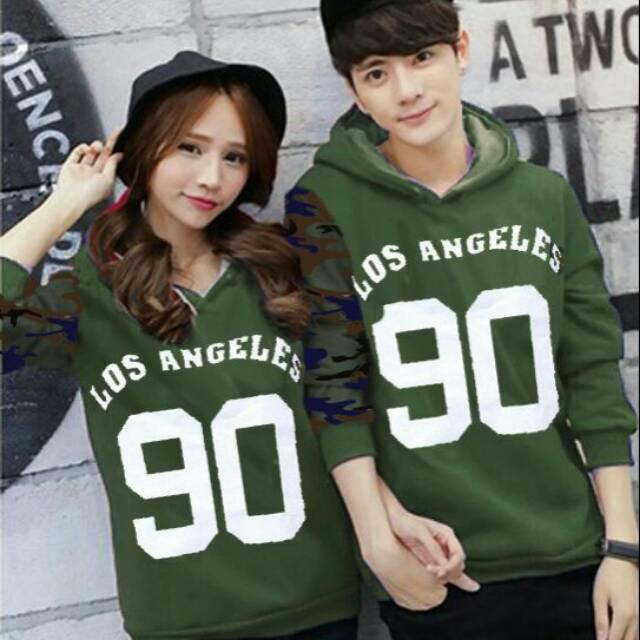 Damai fashion - Couple LA army - konveksi tanah abang