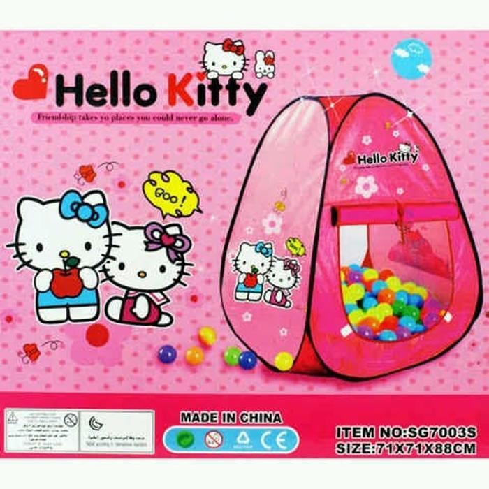 Tenda Segitiga Anak Karakter - Tenda Mandi BolaIDR105000. Rp 110.000