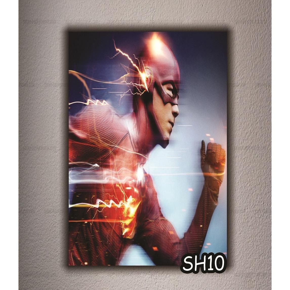 VASTY HIASAN DINDING POSTER KAYU ART WALL DECOR SUPER HEROES  A230