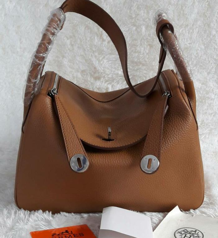 Tas hermes lindy Clemence original leather ON SALE