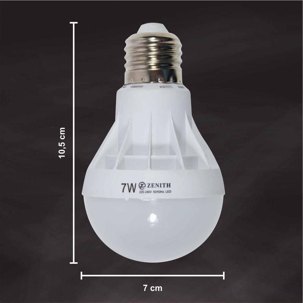... WEITECH LAMPU BOHLAM LED ZENITH HEMAT ENERGI DAN AWET 7 WATT 3 PCS - 4 ...