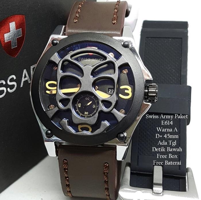 Jam Tangan Fashion Pria Merk Swiss Army Aquilaria