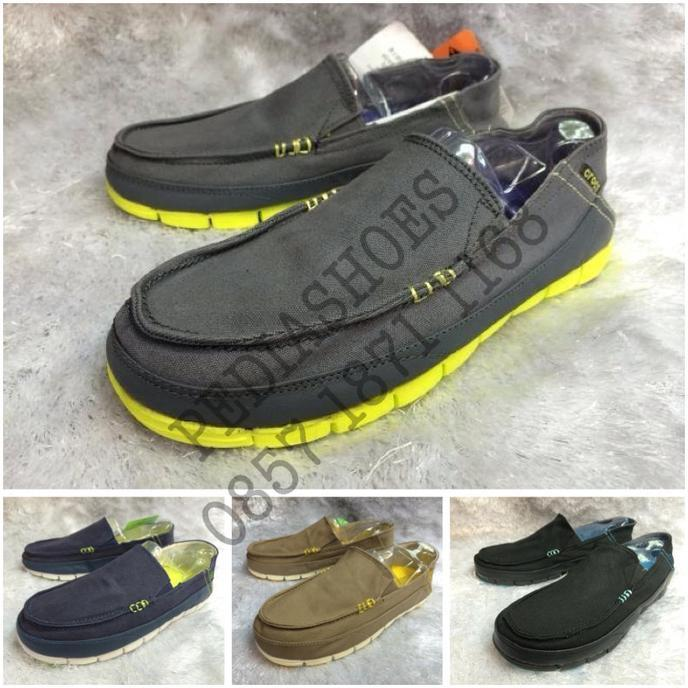 Sepatu Casual Crocs Stretch Sole Loafer Original (Grosir Dan Eceran) - W7ou32
