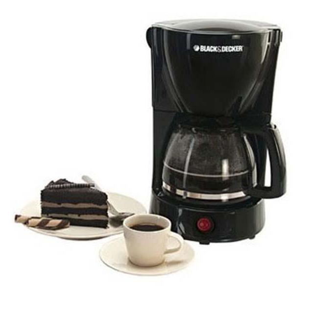 Coffe Maker 8-10Cup 800W 1.25L Black+Decker DCM600B5