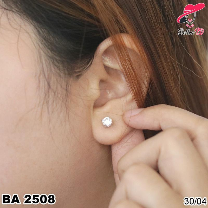 Perhiasan Anting Emas Tusuk Berlian Mata 1 Mewah Murah Wanita A 2508