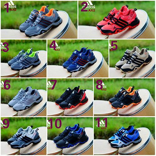 Promo Sepatu Sneakers Pria Adidas Ax2 Casual Sport Jogging GRATIS 1KAOS KAKI Fashion