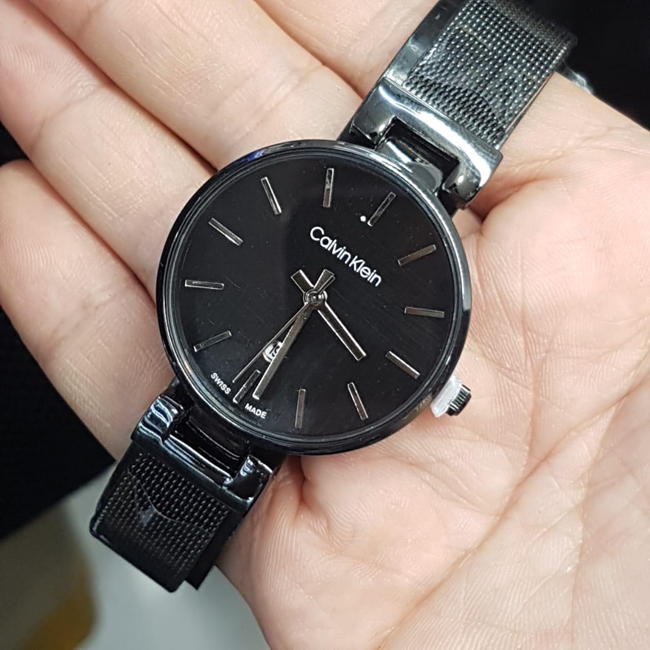 Jam Tangan Wanita Calvin Klein/CK Rantai Pasir