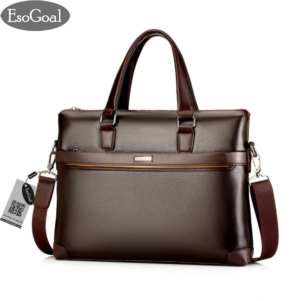 JvGood Tas Kerja Pria Kulit Tas Tangan Lilin Santai Bahu Bag Men's Leather Briefcase Laptop Handbag