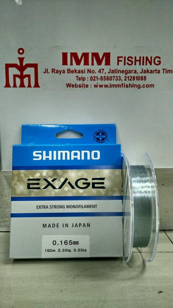 Tali Nylon SHIMANO Exage 150M 0.16/5Lb - Xrkg94