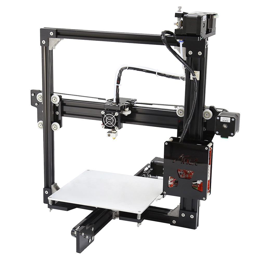 Anet A2 Aluminum Metal 3D Three-dimensional DIY Printer with TF Card Off-line Printing / LCD DisplayUK PLUG