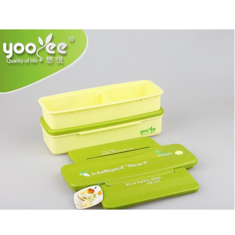 Cek Harga Baru Kotak Makan Anak Lunch Box Bpa Free 2 Tingkat Yooyee 369 3