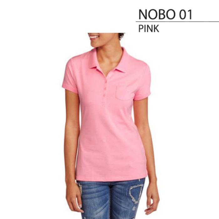 Baju Atasan Kaos Branded Original NO BOUNDARIES WOMEN POLO SHIRT