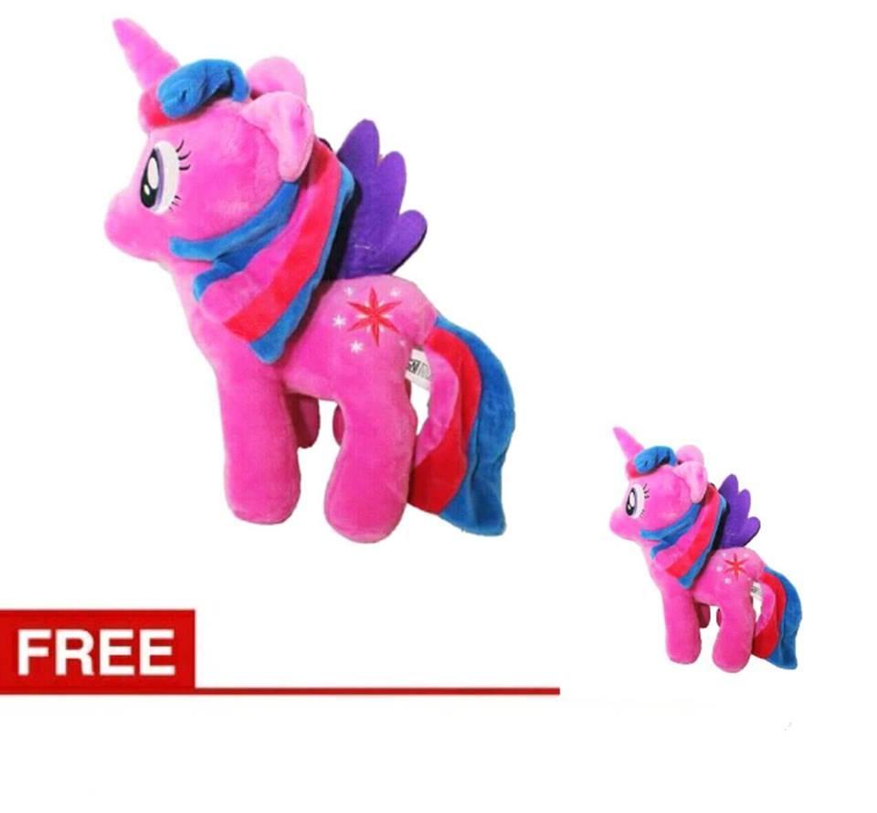 Buy 1 Get 1 Boneka Kuda Poni Little Pony Karakter Twinkle Sparkle High Quality - Ungu