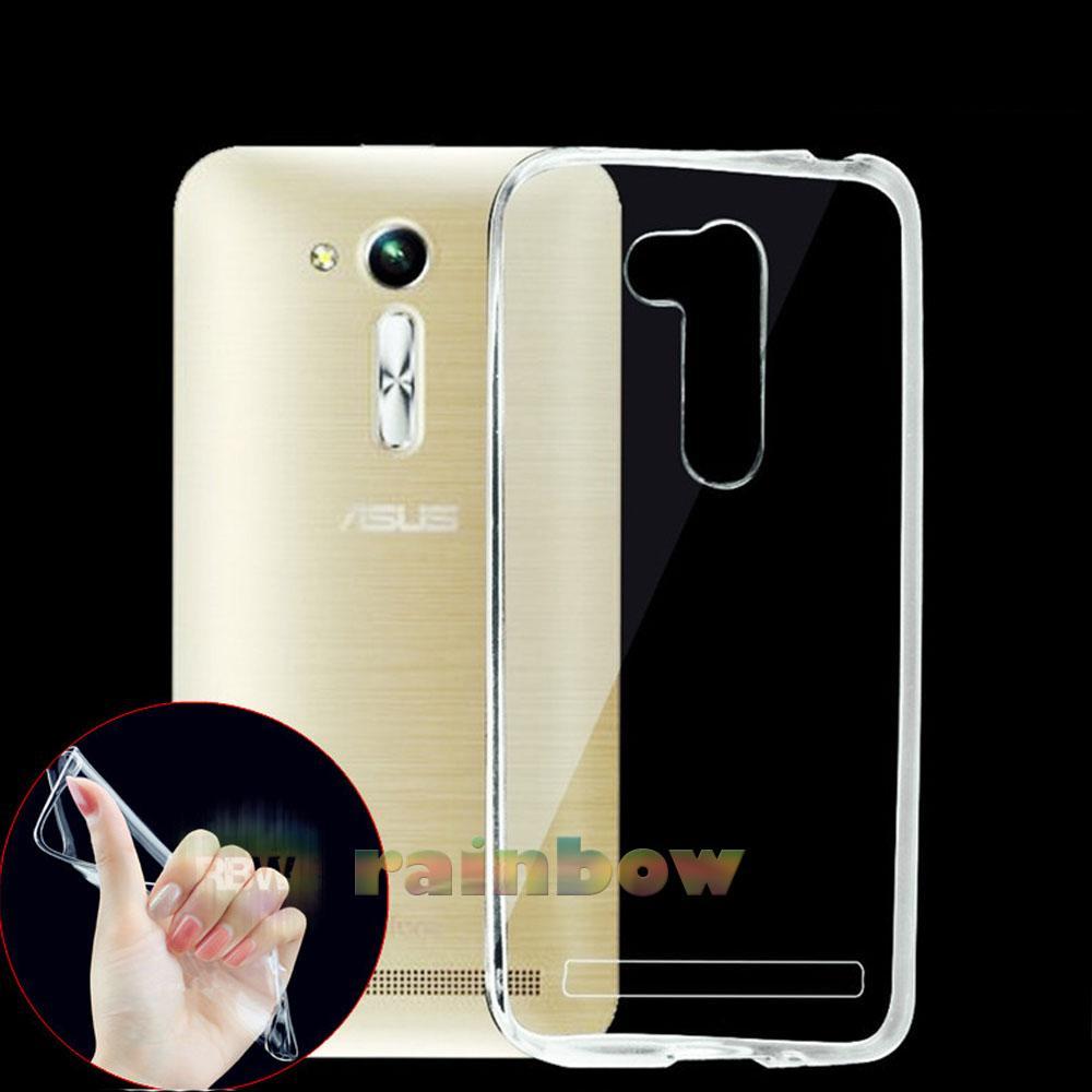 Rainbow Ultrathin Soft Case Asus Zenfone Go 4.5 inch 2016 ZB452KG Clear / Silicon Case Zenfone