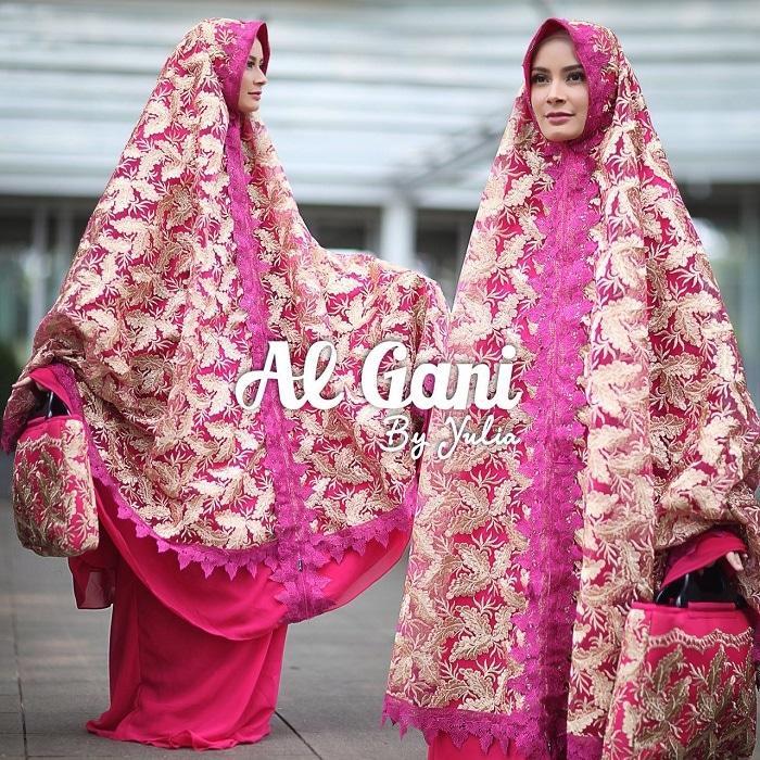 Mukena Ashanty Pink Fanta Ori by Al Gani