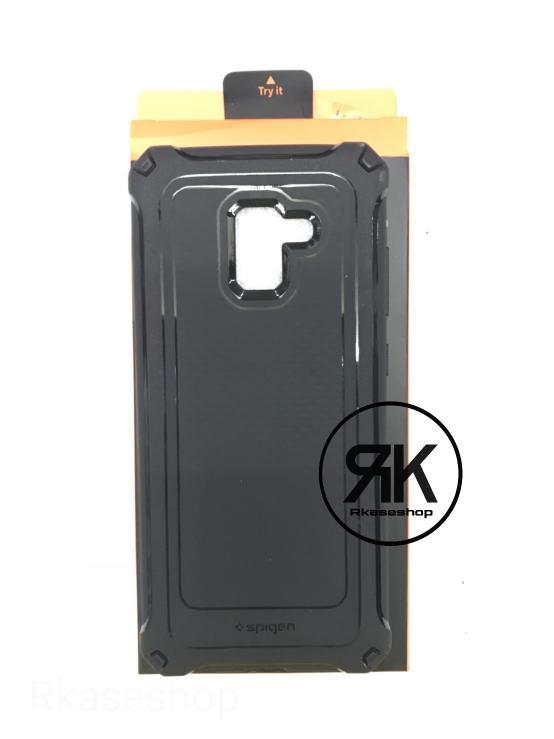 ... Galaxy A7 2017 A720 - Black. Source · Spigen Rugged Capsule Samsung A8 2018 Soft Back Case Casing Full Cover