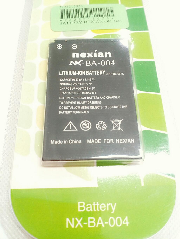 Baterai Nexian BA 003 OriginalIDR55000. Rp 55.000