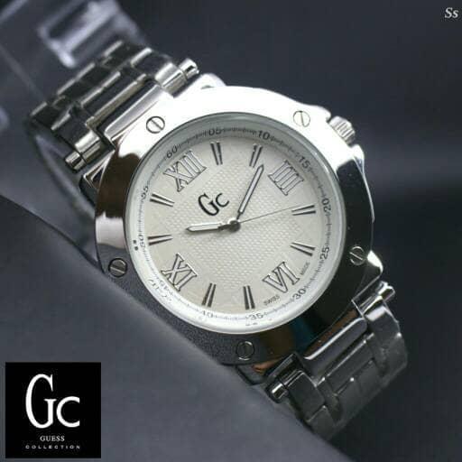 Jam Tangan Wanita / Cewek GC Guess R1789 White