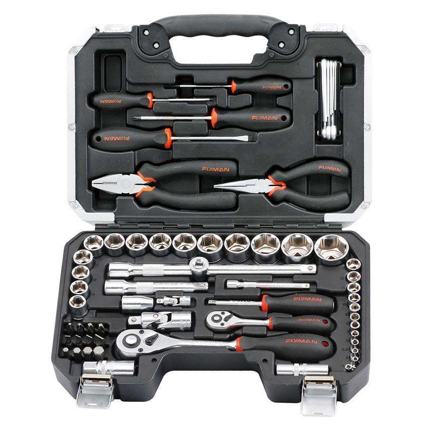 FIXMAN BT65 65-PC Peralatan Kunci / Socket Tools Set 65 Pcs