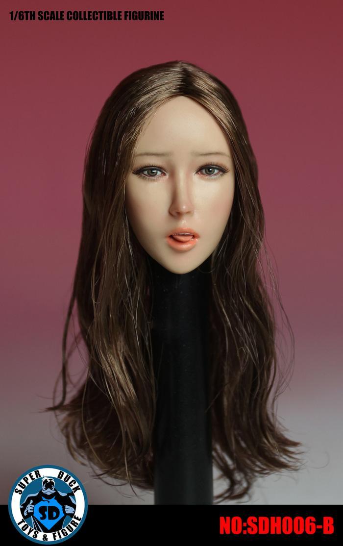 BEST SELLER!!! Super Duck SDH006 Female Head u/ TBLeague Phicen Jiaoudoll Hot Toys - J6wjy0