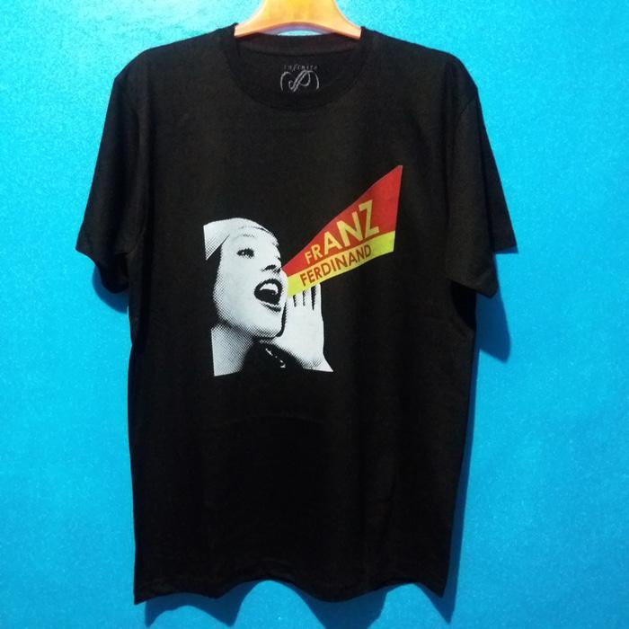 Kaos Baju Band Merchandise IMPORT - Franz Ferdinand 01