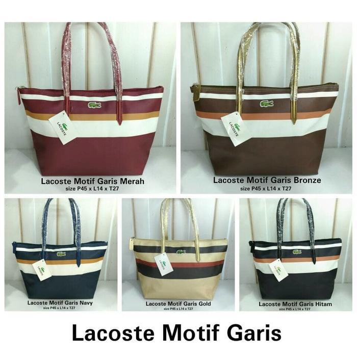 Beli Lacoste Bag Store Marwanto606 Source · Lacoste No Furing Horizontal  Motif Tulisan Daftar Update Harga 072da08aa3