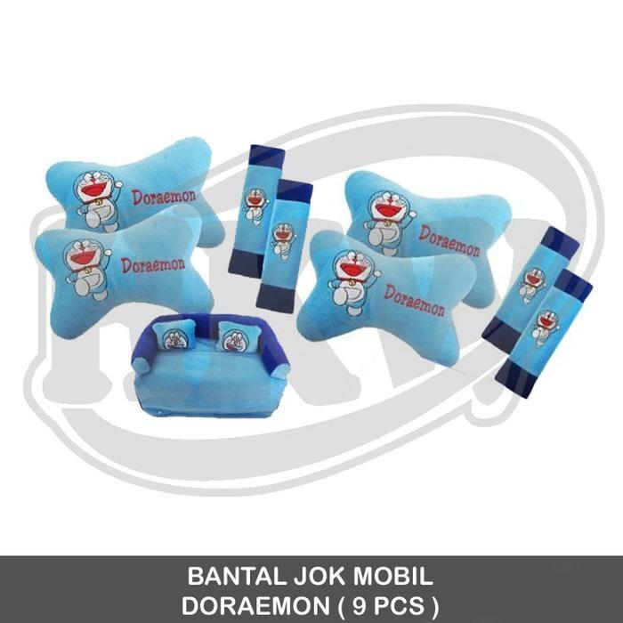 Bantal 9 Pcs Doraemon Mobil Futura / Minibus
