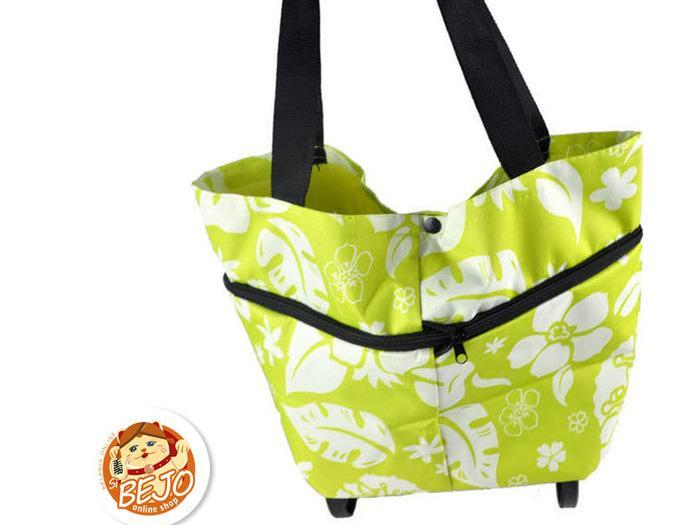 Detail Gambar Tas Troli Ringkas Beroda/Belanja/Foldable Trolley Shopping Bag-BB006W - o8aVqU Terbaru