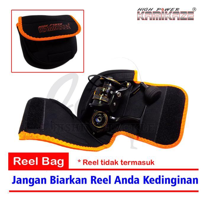 Kamikaze Reel Bag 2 layer - Tas reel pancing 15x13x4cm