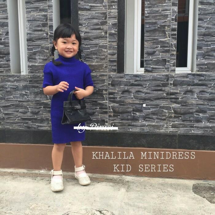 Khalila Kid Dress 7STAR - Baju Rajut Anak TRENDY   Dress Rajut Anak   Dress  Anak 5d0dfd054f