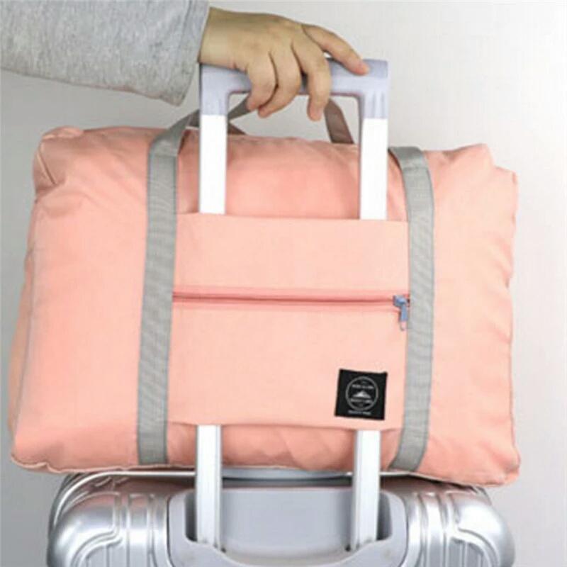 Bag Orange Polkadot Cart Tas Troly Troli Keranjang ... - Detail .